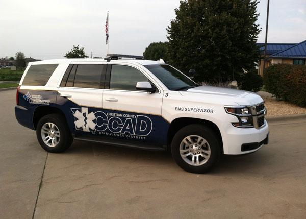 EMS Response Vehicle