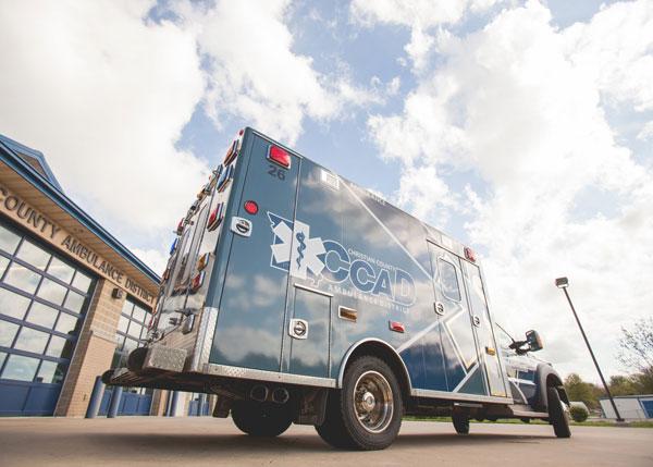 Christian County EMS Truck
